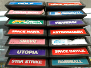 Intellivision Lot - 14 Games Available @ Chumleighs ! 613 968 25