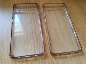 2 x Samsung S10+ Hard Protective Cases
