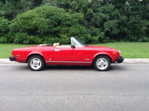 Fiat spider 1981 injection