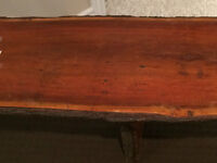 Handmade 100 year old wood Bench from India asking $1200