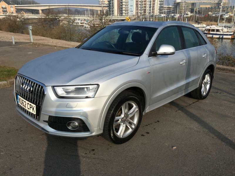 2012 audi q3 tdi s line estate diesel in penarth vale. Black Bedroom Furniture Sets. Home Design Ideas