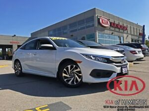 2016 Honda Civic EX Honda Sensing CVT | Low KM | One Owner