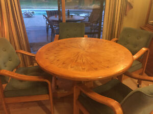 Small Round Kitchen / Dining Room Table Set