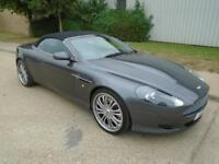 ASTON MARTIN DB9 5.9 PETROL AUTOMATIC SAT NAV LOW MILEAGE CONVERTIBLE