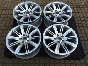 4 OEM bmw 18 staggered rims for bmw 3 / 5 / 6  and 7 series