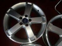17 inch alloy wheels x4