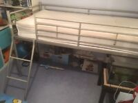 Childs metal cabin bed