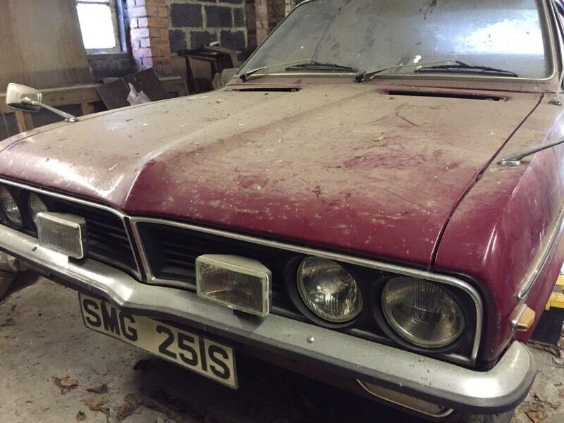 Vauxhall Viva 1300 GLS Barn Find Classic Car