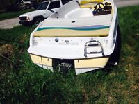 "Jet-Boat""98 four wins fling&trailer(no ownerships)$2500(firm)"