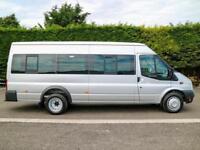 2014 (14) FORD TRANSIT T430 EL D.R.W EXTRA LWB MEDIUM ROOF 17 SEAT MINIBUS
