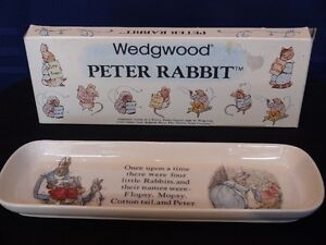 """Wedgwood Collection, Peter Rabbit """"Pencil Tray"""" London Ontario image 1"""