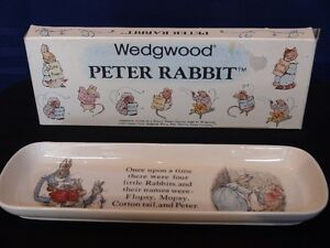 "Wedgwood Collection, Peter Rabbit ""Pencil Tray"""