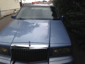 1995 lincoln town car for sale