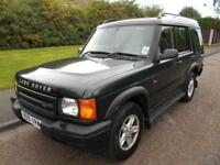 2001 Land Rover Discovery 2 2.5 TD5 GS Station Wagon 5dr (7 Seats)