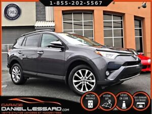 Toyota RAV4 AWD LIMITED, GPS, CUIR, TOIT, FULL ! LÉGER DOMMAGE 2