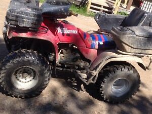 1992 300fourtrax 4x4 will consider trades or 1300firm