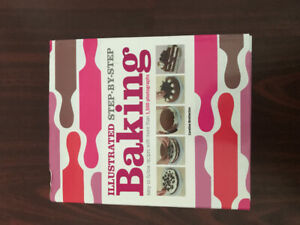 Illustrated step-by-step baking cookbook