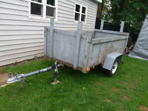 Utility Trailer 4x8. As Is   -SOLD