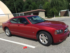 2006 Dodge Charger Red Sedan