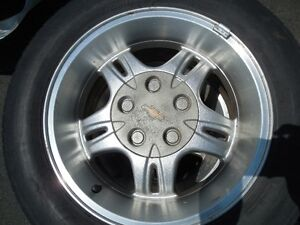 """16"""" s10 Xtreme rims and tires"""