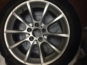BMW 2012 6-Series Cabriolet Winter Tires and Mags - 2600$ TOTAL West Island Greater Montréal image 1