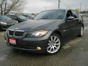 2006 BMW 3 Series 330Xi, 4WD, AUTOMATIC, SUNROOF, LEATHER, LOAD.