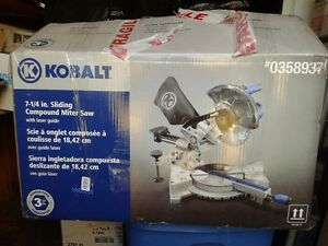 Mitre Saw, Wet Saw and Shop Vac