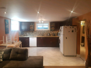 Bowmanville 2 bedroom lower level apartment
