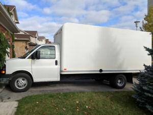 2011 Chevrolet - G33903 Cube Van 16' WITH SAFETY