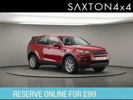 image for 2019 Land Rover Discovery Sport 2.0 SD4 SE Tech Auto 4WD (s/s) 5dr SUV Diesel Au