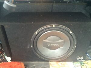 Sub amp and box