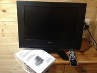 Toshiba TV with DVDs player