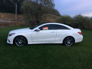 MERCEDES E 350 COUPE 4 MATIC SHOWROOM CONDITION