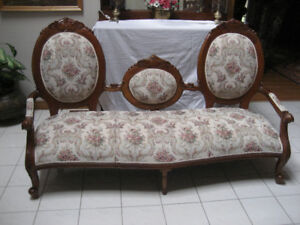 Reproduction Victorian Sofa