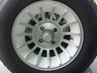 "14"" 4x114.3 Rally Style Alloy Wheels/Rims and Tires"