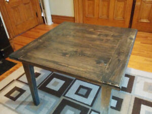 Rustic Table I build them