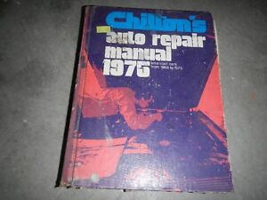 1975 CHILTON REPAIR MANUAL Peterborough Peterborough Area image 1