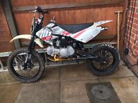 140cc Welsh pit bike