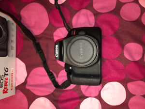 CANON REBEL T6 WITH 2 LENSES BRAND NEW