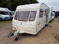 2002 Avondale Mayfair 515-4 Berth End Washroom Caravan