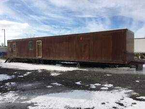 Portable Office Trailer 12x60 with wheels only $22,950!