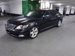 2008 Lexus LS 460L-Self Parking-Semi aniline Leather-LWB