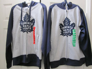 Toronto Maple Leaf Hoodies, M & XL, Men's, BNWT..Offic.Licen NHL