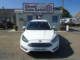 15 FORD FOCUS 1.6 TITANIUM AUTO - 23544 MILES - 1 OWNER FROM NEW - FSH