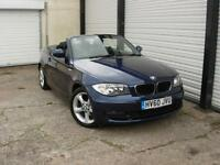 2011 60 BMW 118d 2.0TD Sport Convertible **Service History**