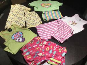 Lot de pyjamas Fille 10-12 ans - 10$
