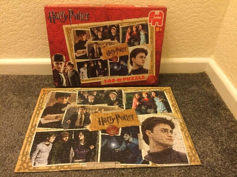Harry Potter 200 piece Jigsaw - Rare
