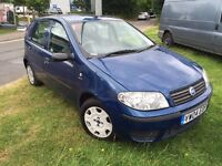 Fiat punto 2004 1.2 5 doors 1 year MOT in good condition drives very well
