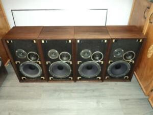 Heathkit AS-104 Vintage Speakers