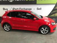 2013 63 VOLKSWAGEN POLO 1.2 R-LINE STYLE 5D 69 BHP